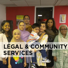 legal and community services